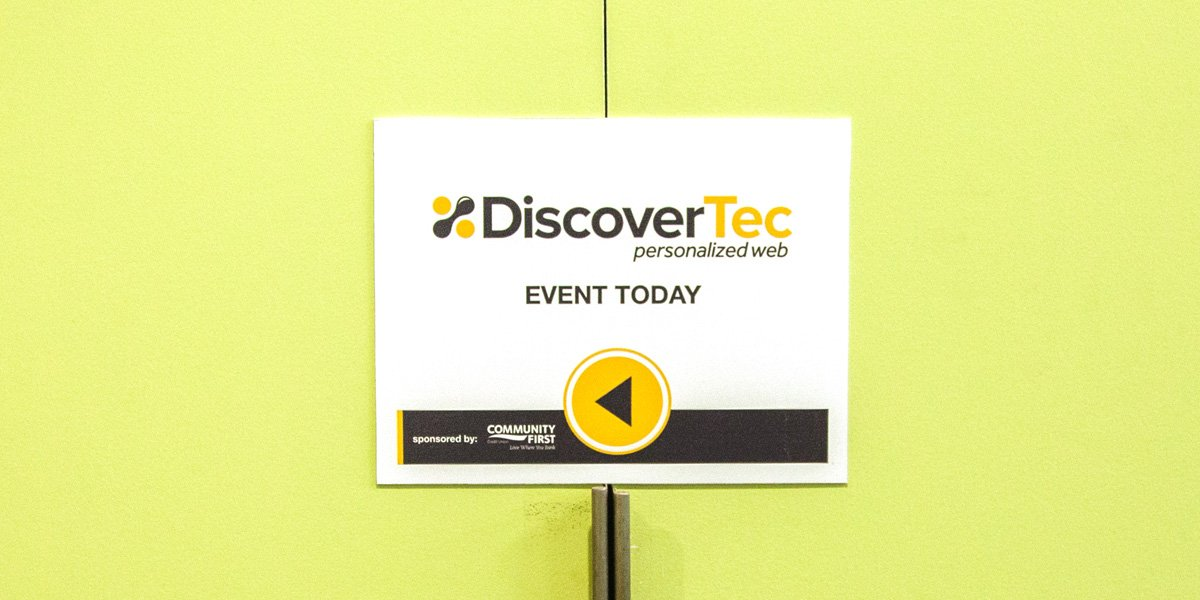 DiscoverTec Event Sign