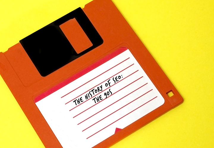 The History of SEO: The 90s